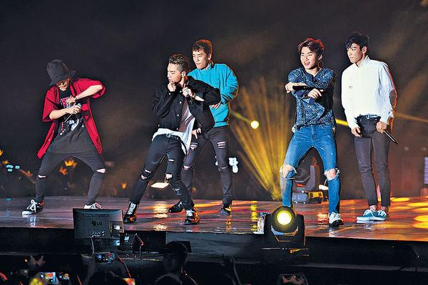 BigBang四場演出冧盡港迷