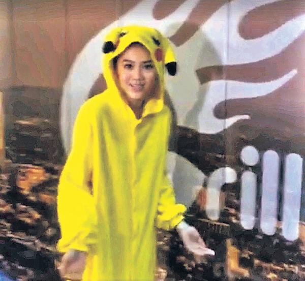 周秀娜直播「玩」Pokémon捱轟