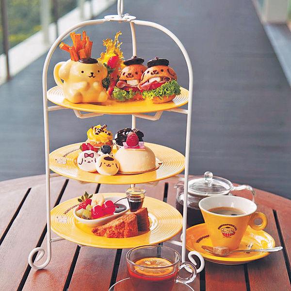 星洲布甸狗Cafe 食三層高限定甜品餐