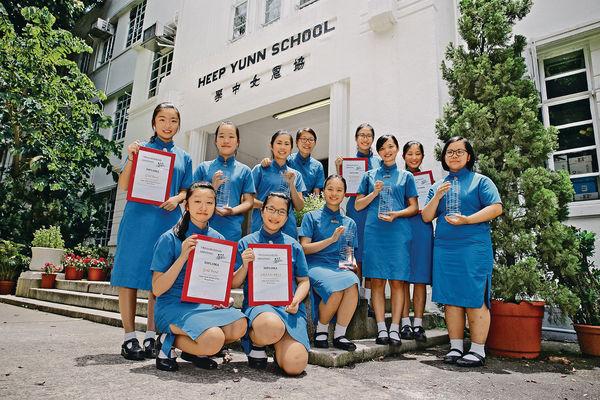 揚威國際 協恩合唱團音樂節奪冠