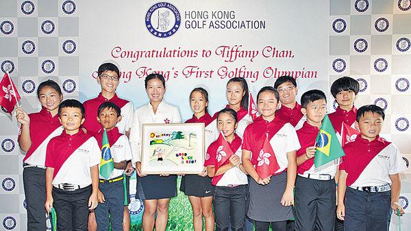 港首名出戰奧運高球手 陳芷澄感謝支持