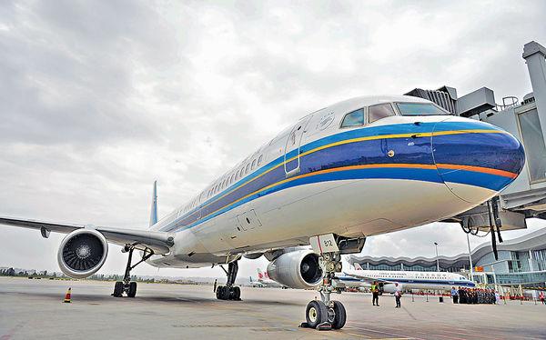 南航首6個月載客人數升2.2%