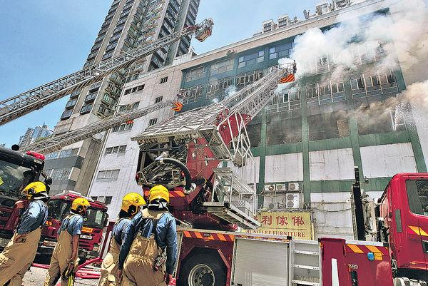 兩殉職消防家屬 獲逾$900萬援助金