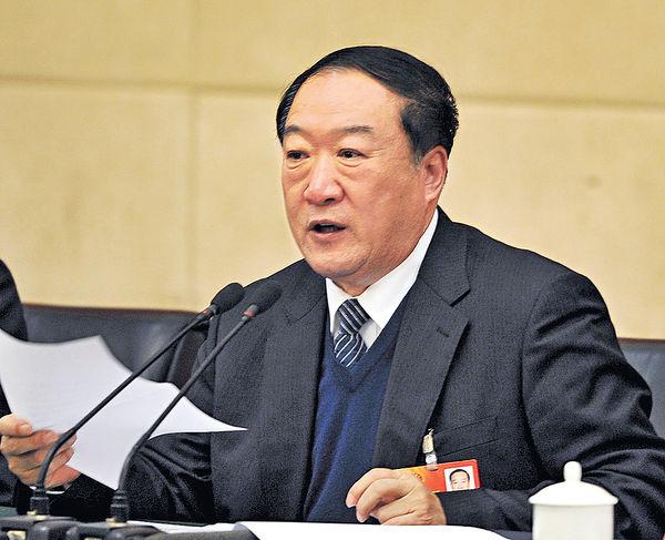前全國政協副主席蘇榮 涉受賄被起訴