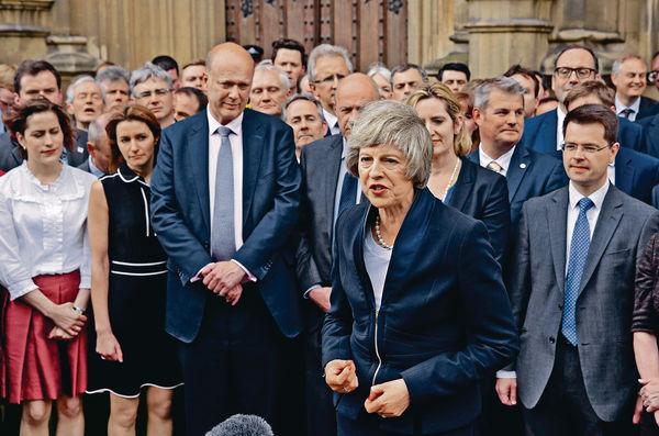 「新鐵娘子」今拜相:團結英國 保脫歐成功