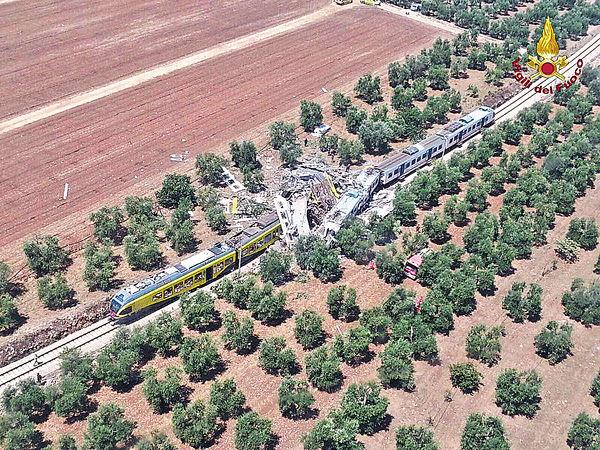 意國火車對頭撞 至少20死