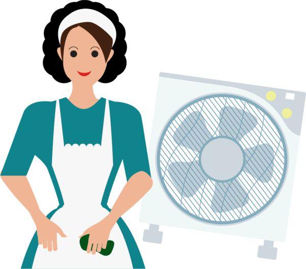 家務助理疑呃鐘 1.5小時抹一把風扇