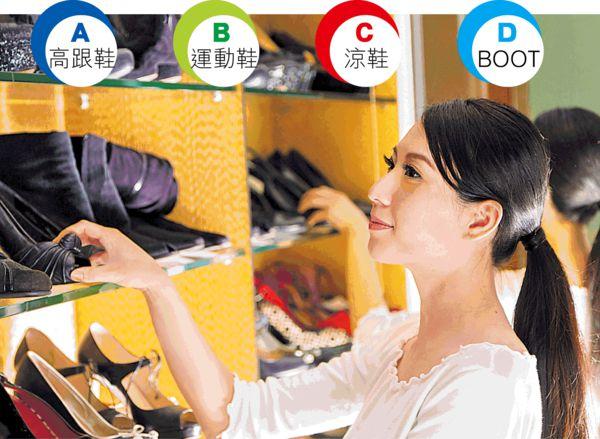 選鞋子 看女生個性