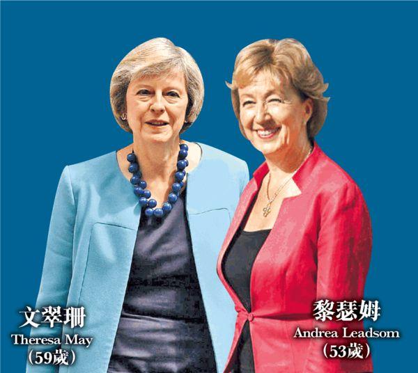 保守黨兩女爭拜相