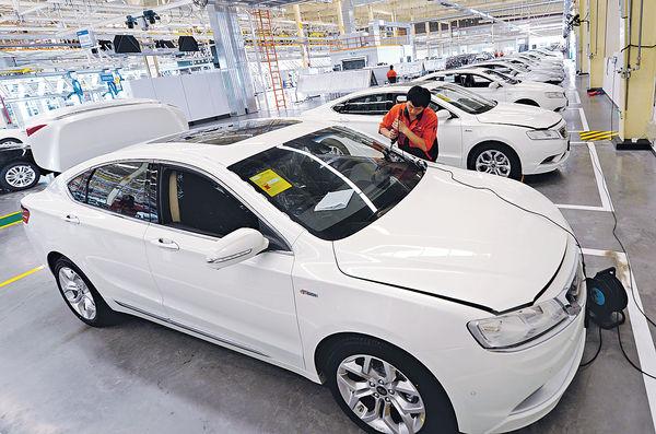 吉利6月總銷量 按年升41%