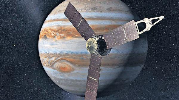 發射五年 「朱諾號」飛木星入軌