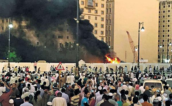 聖城麥地那爆炸 9死傷