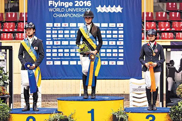 馬會資助騎手 大學生世錦賽奪銅