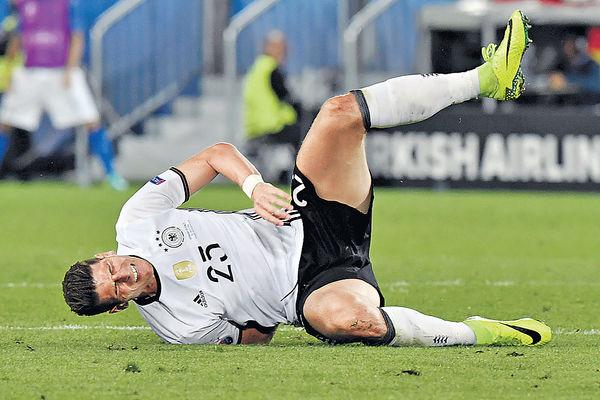 高美斯腿傷 緣盡歐國杯