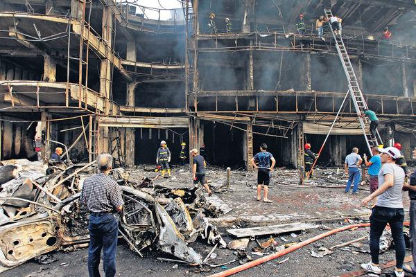 IS連環恐襲巴格達 83死170傷