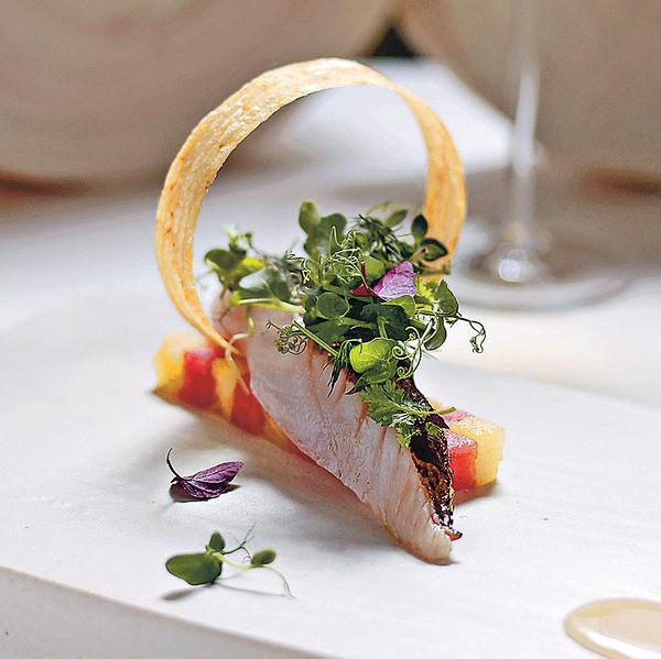 米芝蓮大廚 西瓜配北海道鯛魚