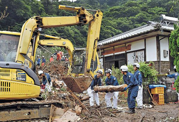 九州連日暴雨 逾70萬人疏散