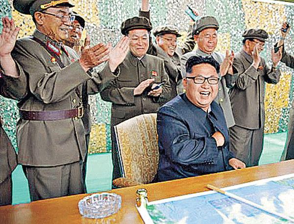朝誇成功射導彈 可攻美軍基地