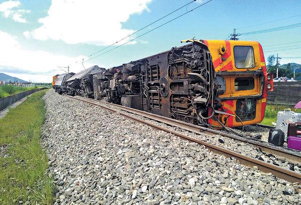 台鐵火車花蓮出軌 2內地客傷