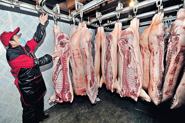 內地生豬價兩周跌半成