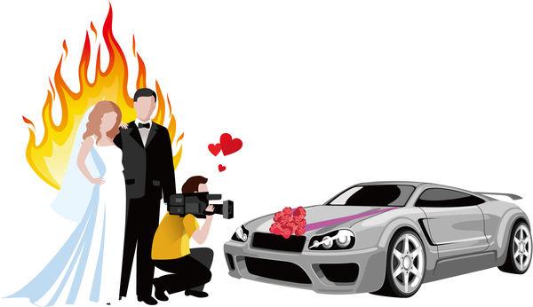 婚宴短片淪汽車廣告 新人無奈