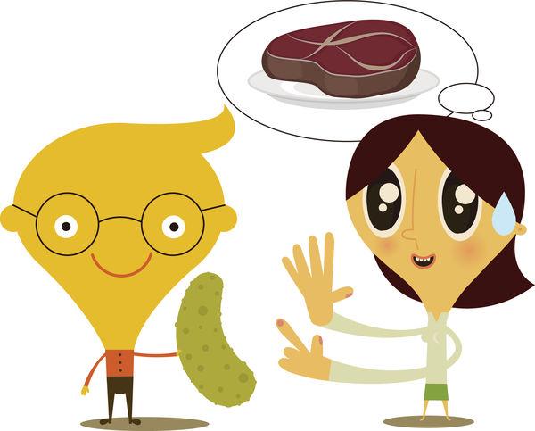 男友轉吃素 「食肉」女呻難遷就