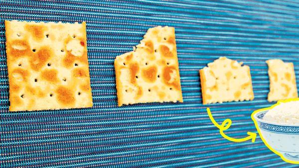 梳打餅健康陷阱 1包熱量如半碗