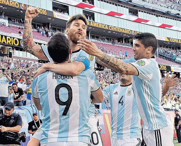 阿根廷智利齊闖4強