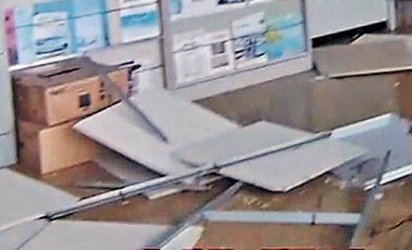 北海道6級地震 函館建築物搖晃