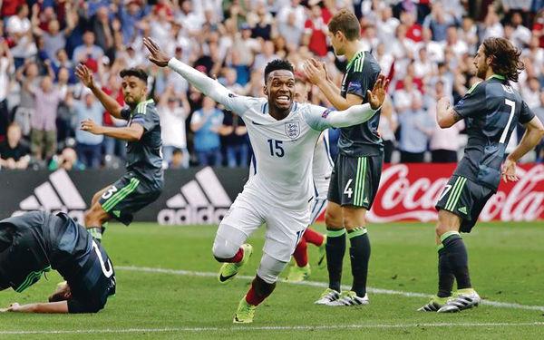 歐國杯「英」雄 2:1反勝威爾斯