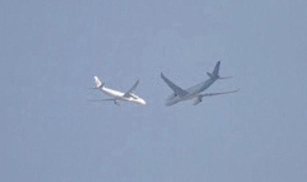 小型飛機險相撞 林超英:安全距離
