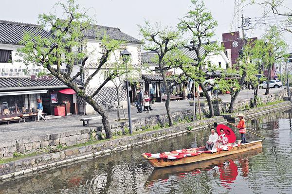岡山倉敷 遊河賞舊建築