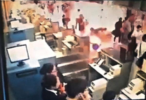 上海迪士尼開幕前 浦東機場爆炸4傷