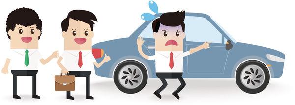 同事「奉旨」黐車 難為打工仔