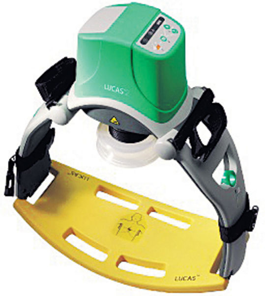 新心肺復甦器 1分鐘按壓百次救命
