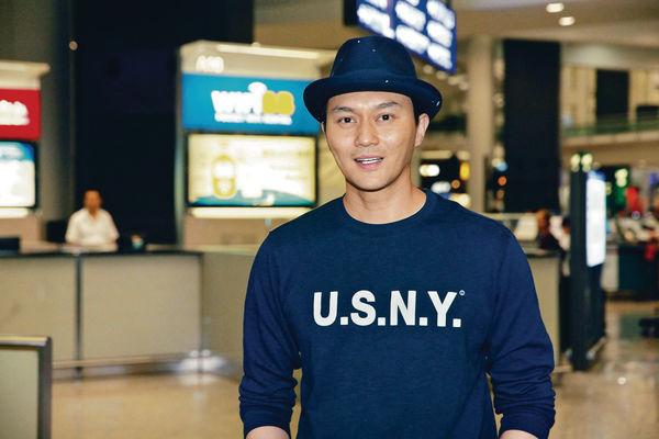 上海浦東機場爆炸 張智霖急回港報平安
