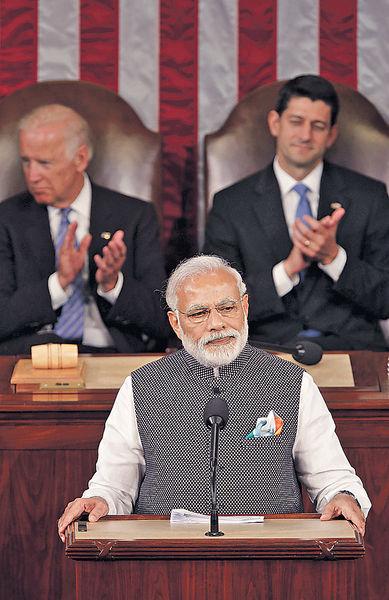印總理訪美 籲加強國防合作
