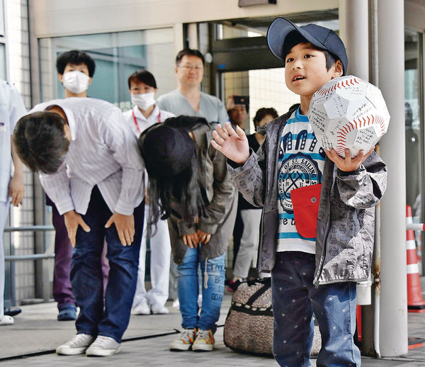 北海道失蹤男童出院 「望復課打棒球」