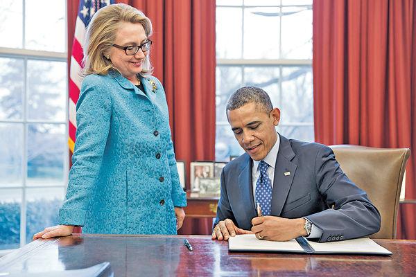 希拉里夠票 奧巴馬將表態支持