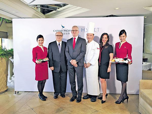 凱悅酒店主廚出馬 幫國泰炮製全新飛機餐