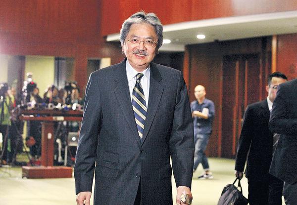 曾俊華:港須提升長遠競爭力