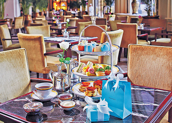 半島 X Tiffany 奢華下午茶