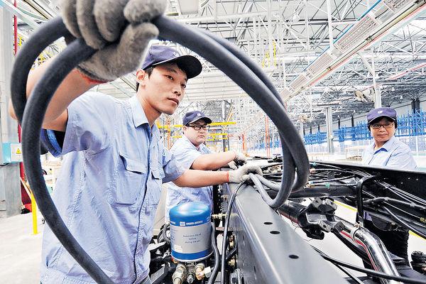 內地官方製造業 連續三個月回穩