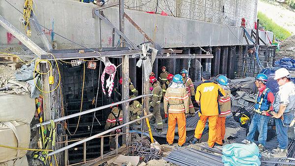 氧氣罐爆炸 韓地鐵地盤14死傷