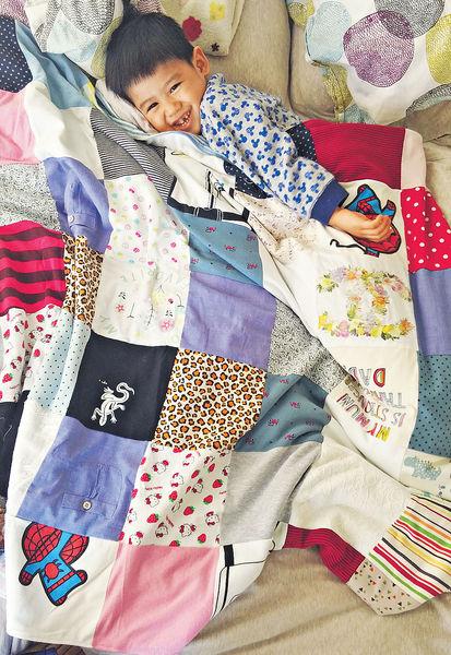 裁出私家紀念品 寶寶衣做百家被