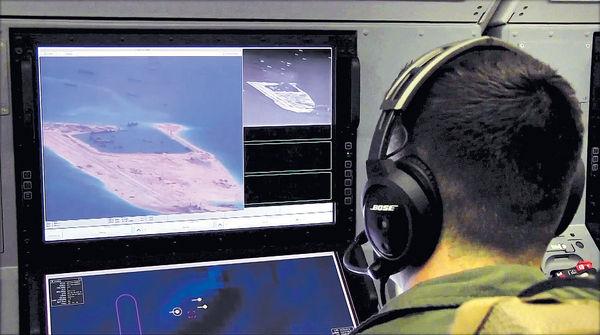 中美軍機南海對峙 僅隔15米