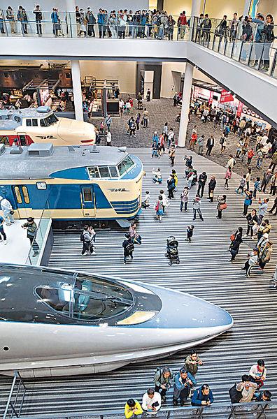 京都曬冷古董火車