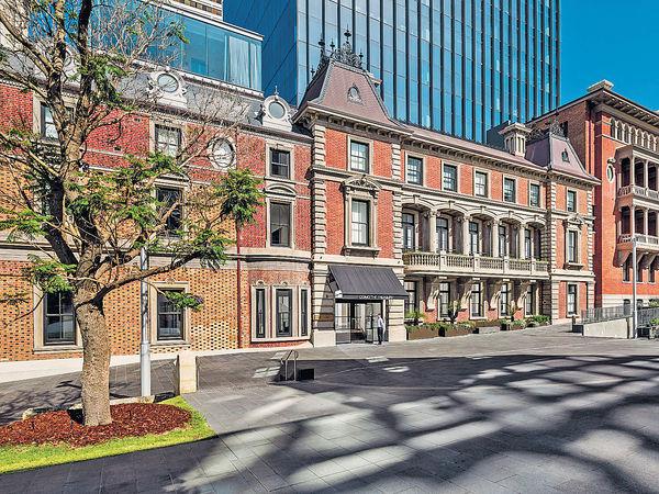 西澳柏斯愛保育 百年建築變酒店
