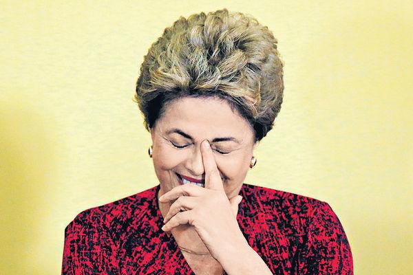 巴西參院彈劾 羅塞夫停職半年