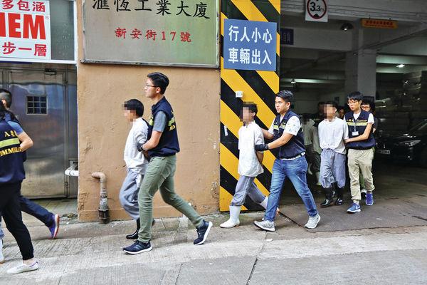 食品工場請黑工 入境處拘11人